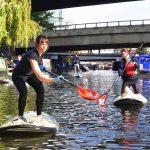 pêche au déchat à Londres