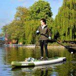 un paddle à Londres