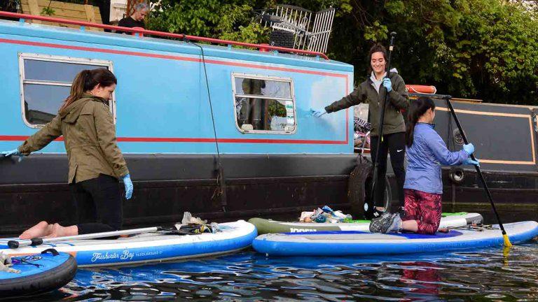 paddle à Londres