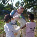 collecte de déchets au Myanmar
