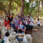 groupe d'enfants au Myanmar