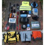 le matériel de l'expédition