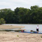 Paddles sur la Loire