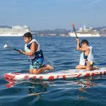 2 participants à la collecte de déchets à Cannes