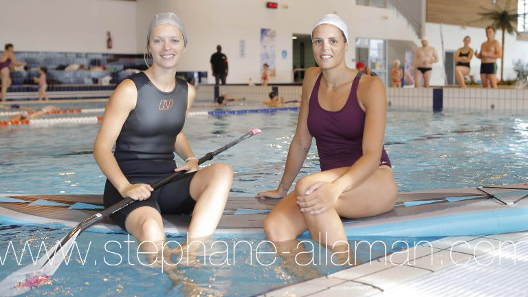 NEWS : Laure Manaudou promeut la ligne de maillot de bain Swind pour l'entrainement - 05/10/2013